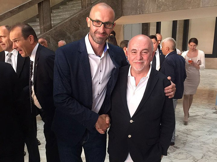 Джорджо Варакка и Сергей Тетюхин