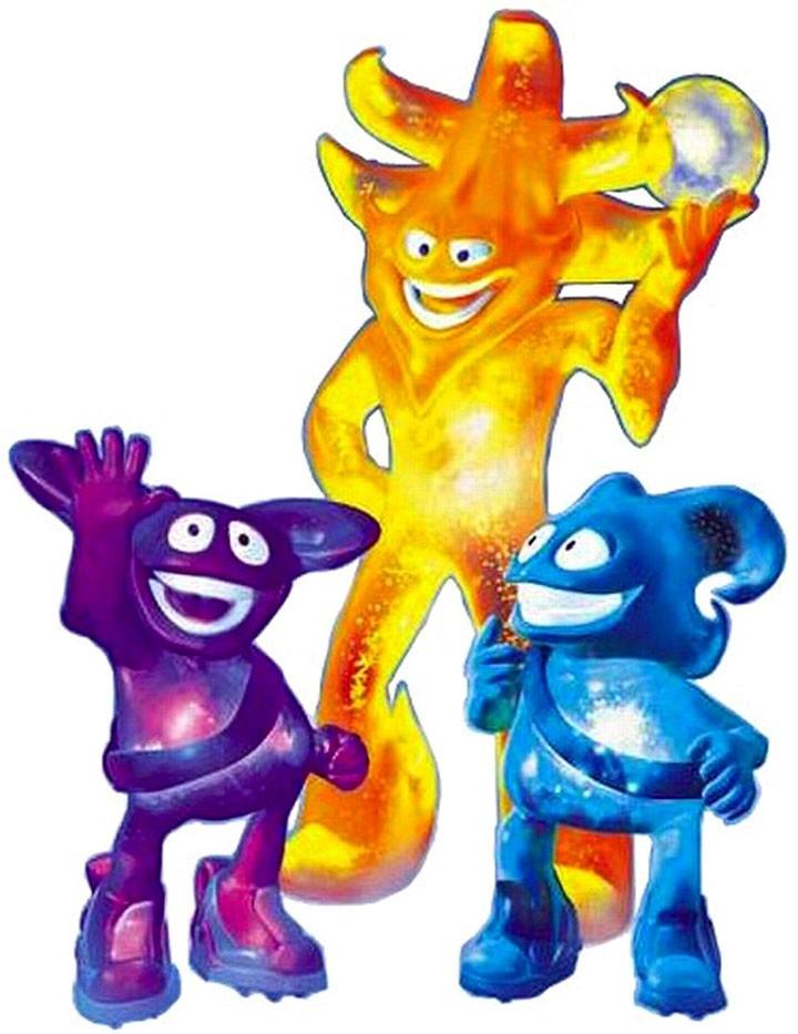 Семейка Атмо: Ник, Атмо и Каз
