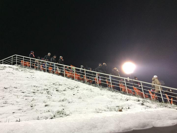 Зимний футбол в Екатеринбурге
