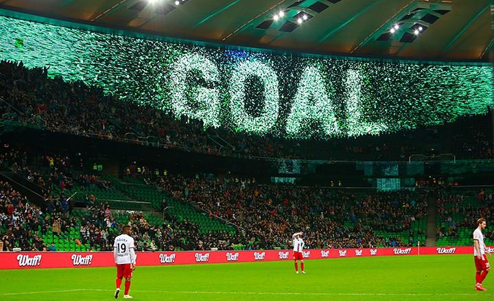 «Краснодар» выиграл первый матч на новом стадионе