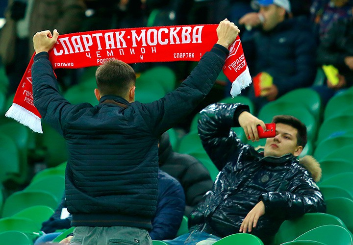 На матче «Краснодар» — «Амкар»
