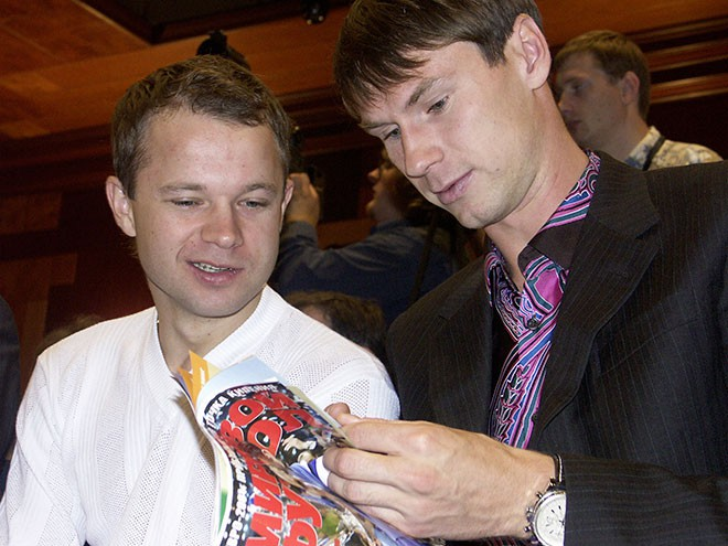 Дмитрий Парфёнов и Егор Титов