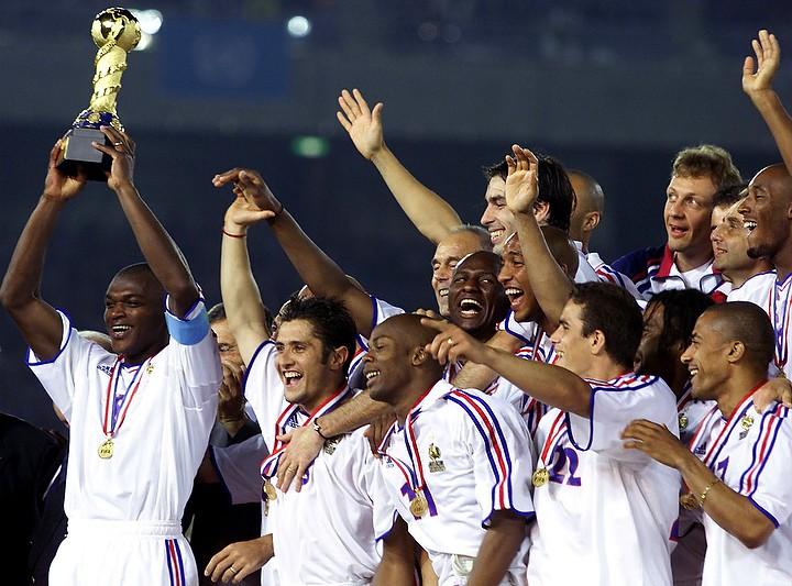 Кубок конфедераций — 2001. Победа Франции