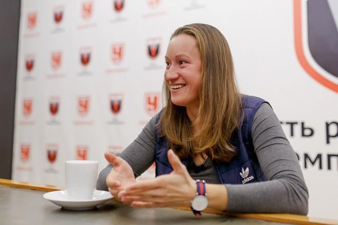 Ольга Подчуфарова в гостях у «Чемпионата»