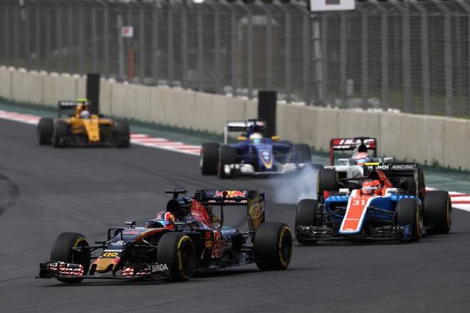 Даниил Квят на Гран-при Мексики