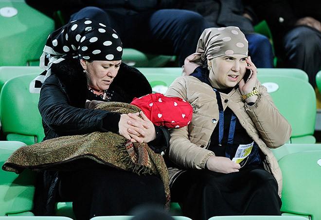 На матче «Анжи» — «Краснодар»