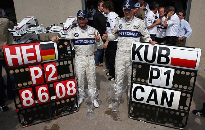 Главный успех заводской команды «БМВ» — дубль на Гран-при Канады — 2008