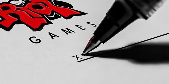 Разработчик League of Legends компания Riot Games внимательно следит за соблюдением контрактных обязательств
