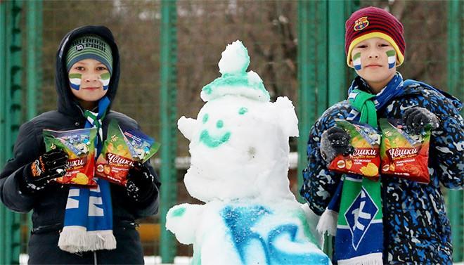 Конкурс снеговиков в Самаре