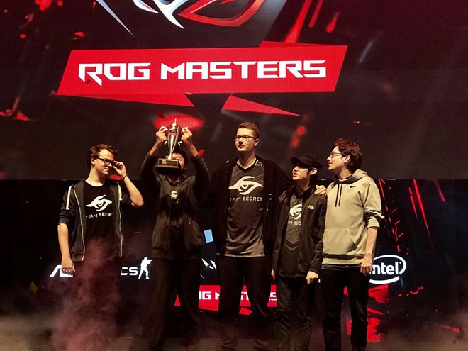 Team Secret — чемпионы ROG MASTERS 2016