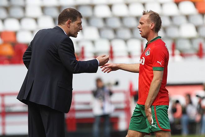 Денис Глушаков и Славен Билич