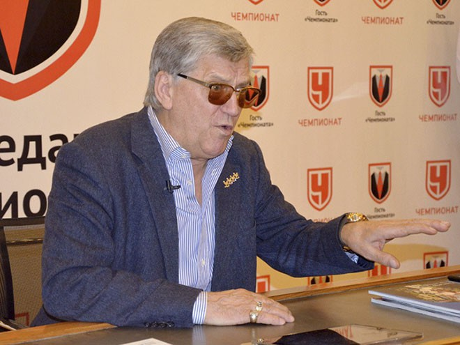 Александр Тихонов в гостях у «Чемпионата»