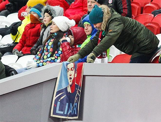 Баннер болельщиков «Рубина»