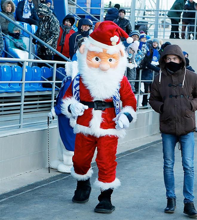Дед Мороз в Оренбурге