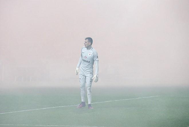 На матче «Спартак» — «Амкар»
