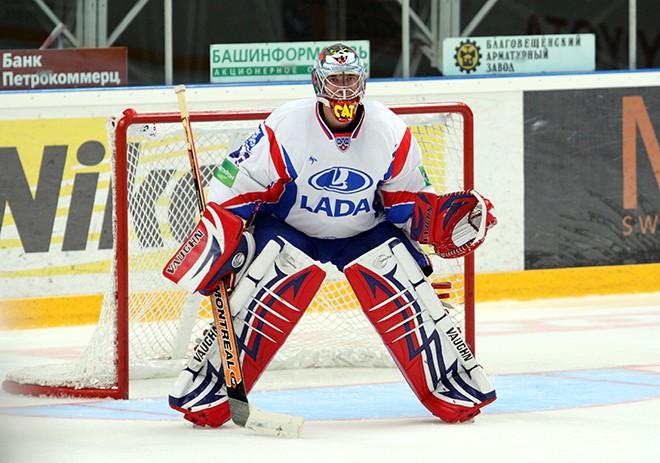 Василий Кошечкин в форме тольяттинской «Лады» в сезоне-2009/10
