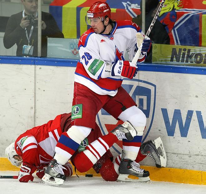 Куляш в форме московского ЦСКА в сезоне-2009/10