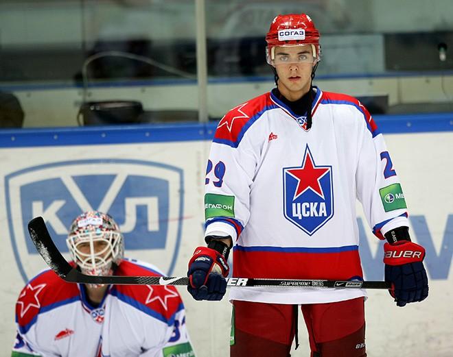 Филатов в форме ЦСКА в сезоне-2009/10