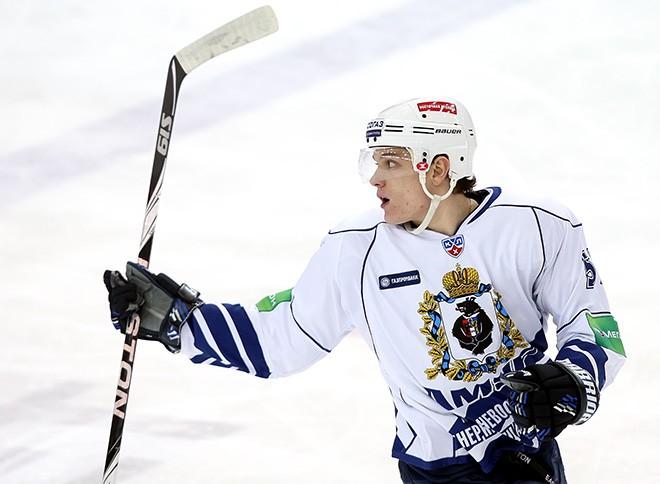 Осипов в форме хабаровского «Амура» в сезоне-2010/11