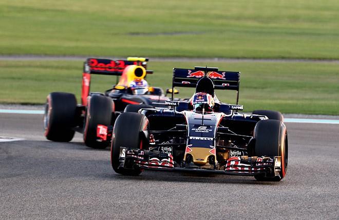 Даниил Квят на Гран-при Абу-Даби
