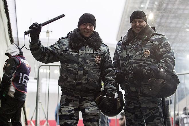 На матче ЦСКА — «Рубин»