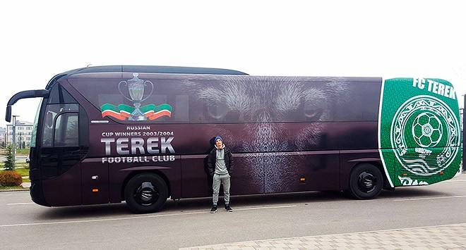 Автобус «Терека»