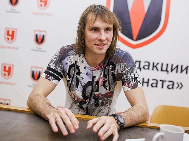 Виталий Дьяков в гостях у «Чемпионата»