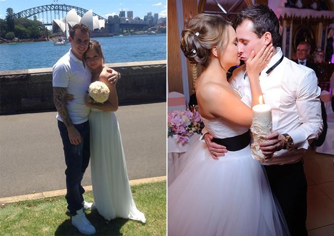 Свадьба на две страны — в Австралии и в России