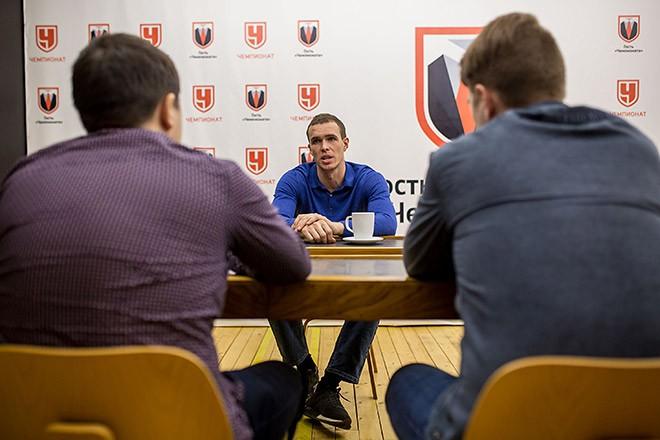Сергей Быков в гостях у «Чемпионата»