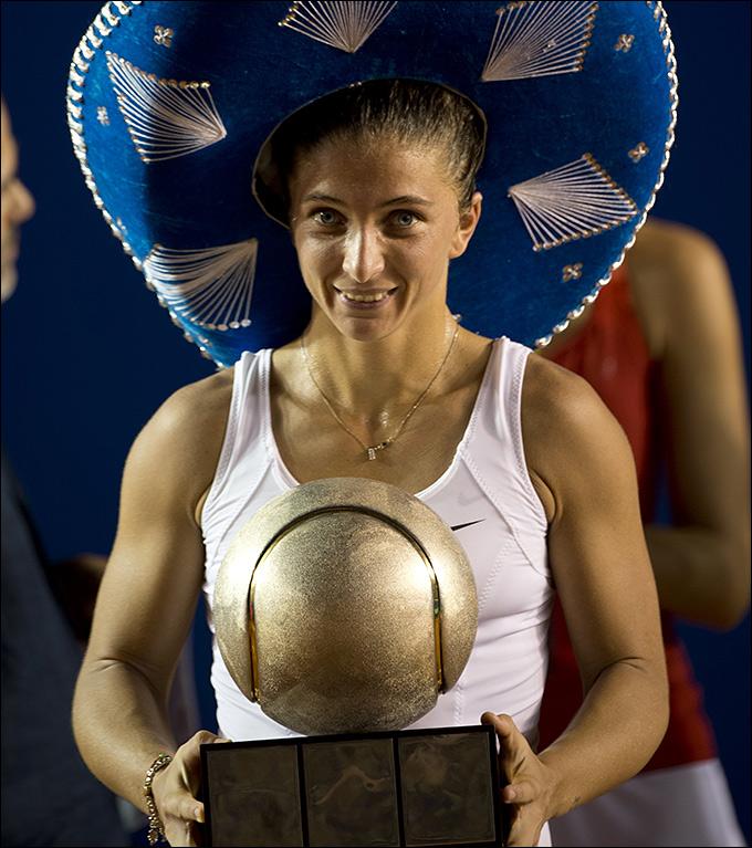 Сара Эррани снова была сильнейшей в Мексике.