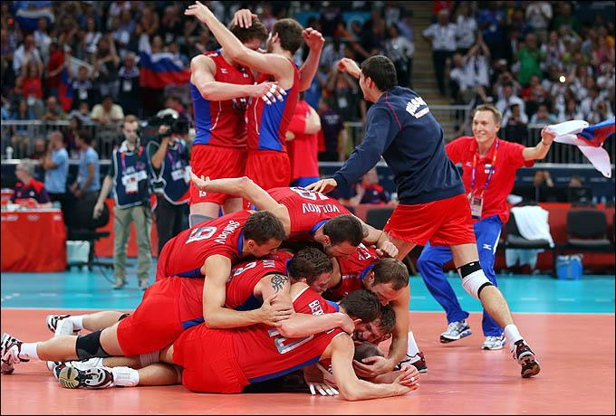 Сборная России — Олимпийский чемпион!