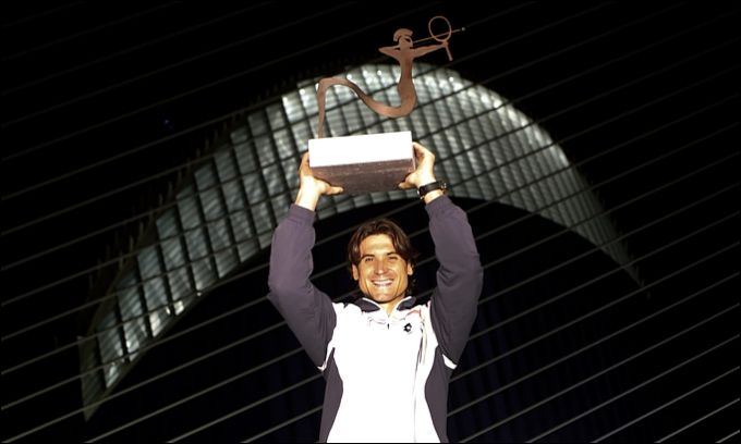 Давид Феррер сравнялся с Федерером по количеству титулов за год