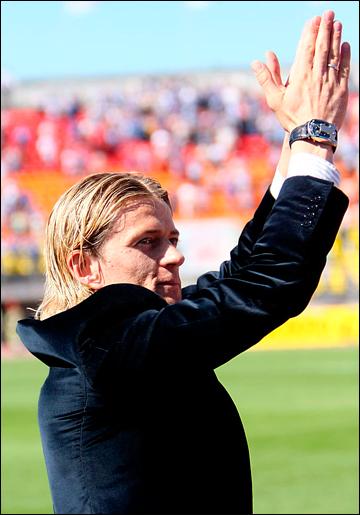 """В 2009-м Тимощук попрощался с болельщиками """"Зенита"""", чтобы через четыре года вернуться"""
