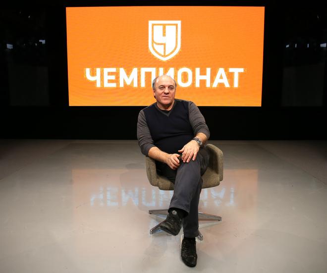 Главный тренер сборной России по регби Александр Первухин
