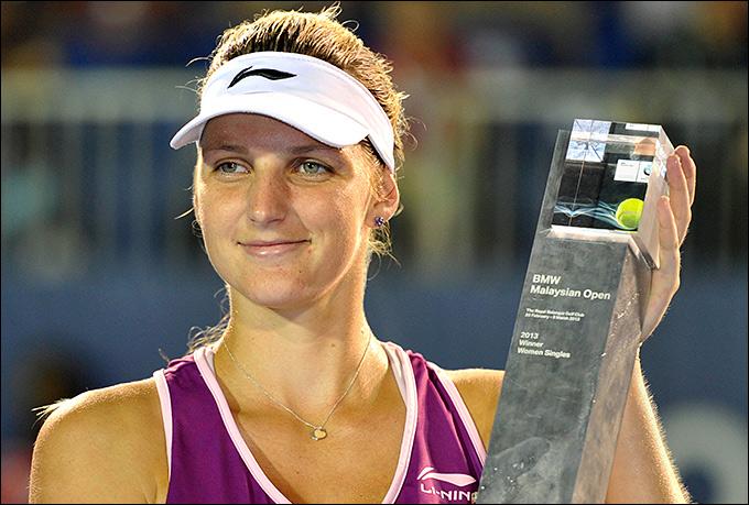 Каролина Плишкова добралась до своего первого титула.