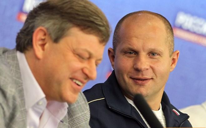 Вадим Финкельштейн и Фёдор Емельяненко