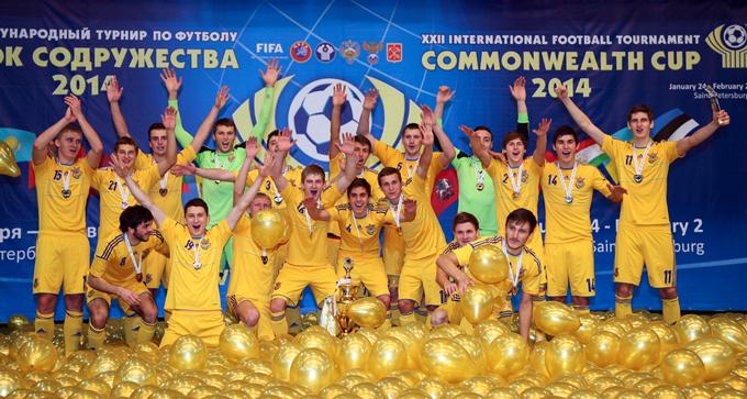 Сборная Украины U-21 — победитель Кубка Содрудества-2014