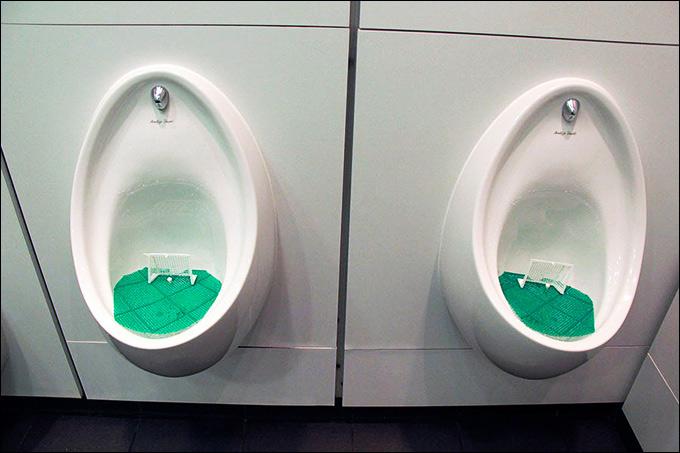 Ну и отдельно стоит сказать о туалете музея