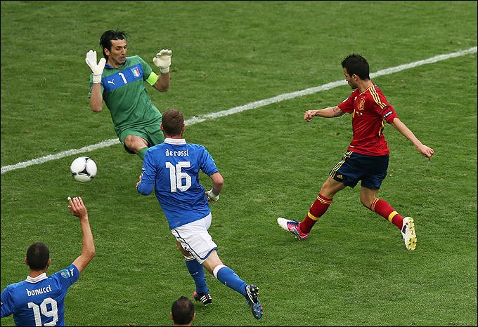 Сеск Фабрегас сравнивает счёт в матче с Италией