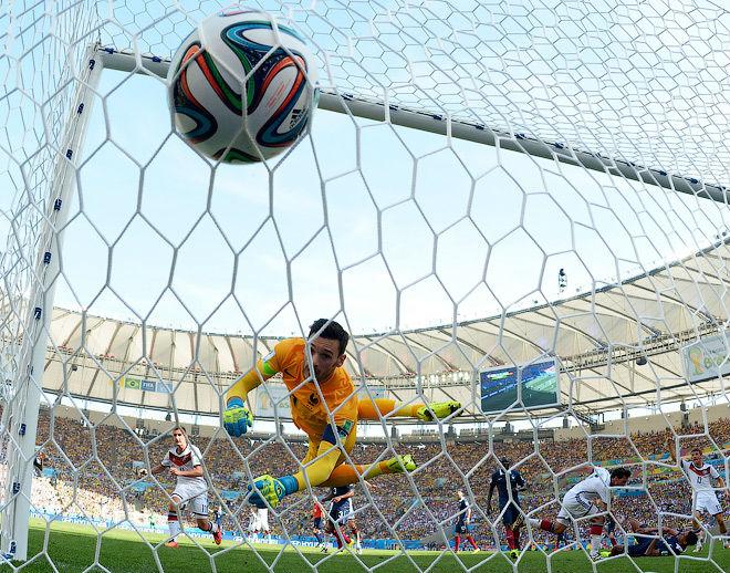 Франция уступила Германии в четвертьфинале