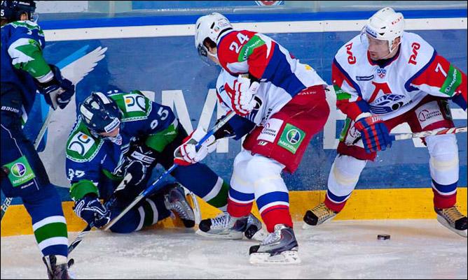 21.11.2010. КХЛ. Югра - Локомотив - 2:3. Фото 01.