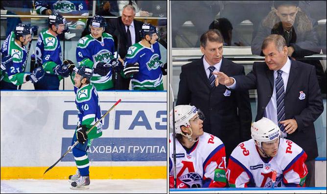 21.11.2010. КХЛ. Югра - Локомотив - 2:3. Фото 02.