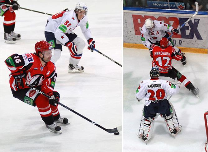 21.11.2010. КХЛ. Автомобилист - СКА - 0:1. Фото 03.