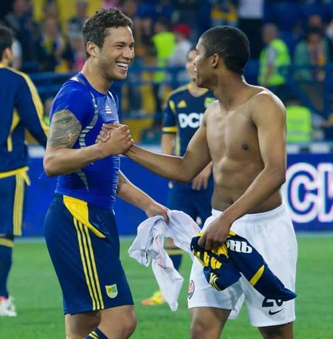 Марлос и Коста: бразильский обмен футболками
