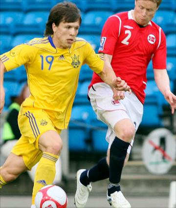 Для Евгения Коноплянки Евро-2012 может стать определяющим в дальнейшей карьере