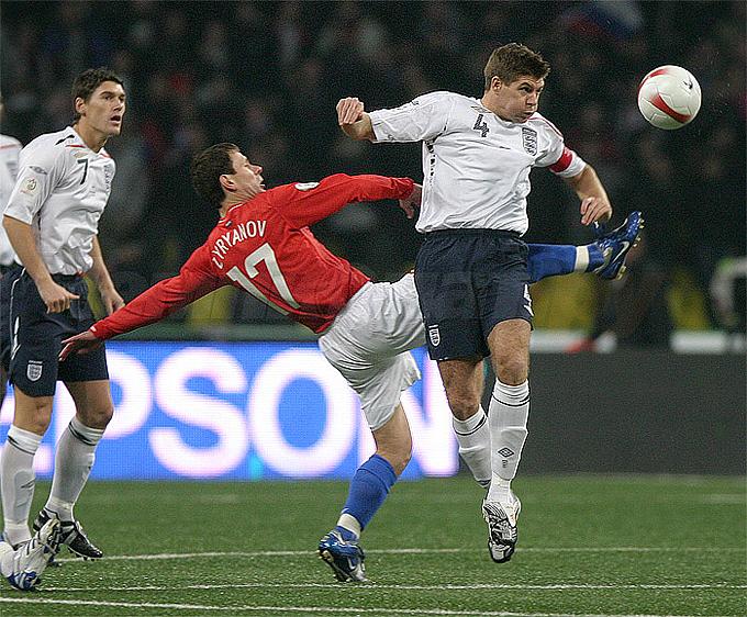 17 октября 2007 года. Россия — Англия — 2:1