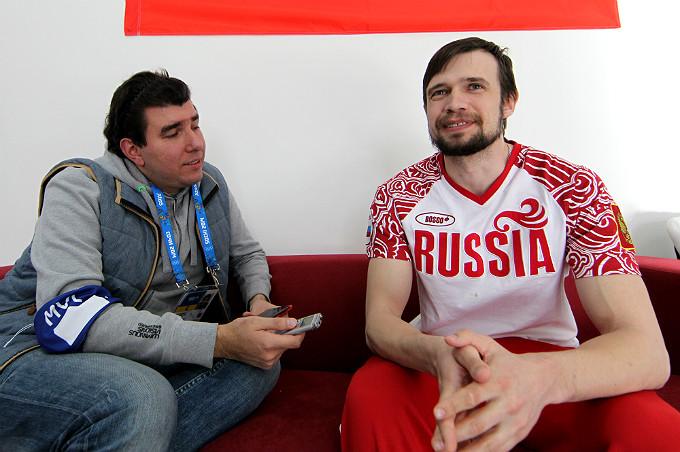 Лев Савари и Александр Третьяков