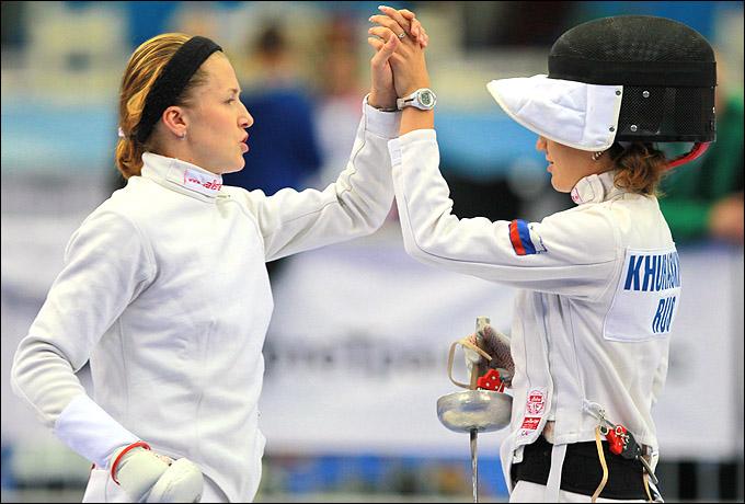 Гречишникова и Хураськина: один за всех, а все – за тренера