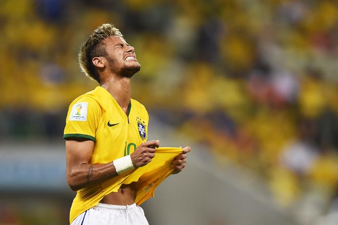ЧМ-2014. Бразилия – Колумбия – 2:1. Неймар весь первый тайм был отдельно от игры