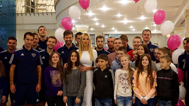 Виктория Лопырёва и сборная России
